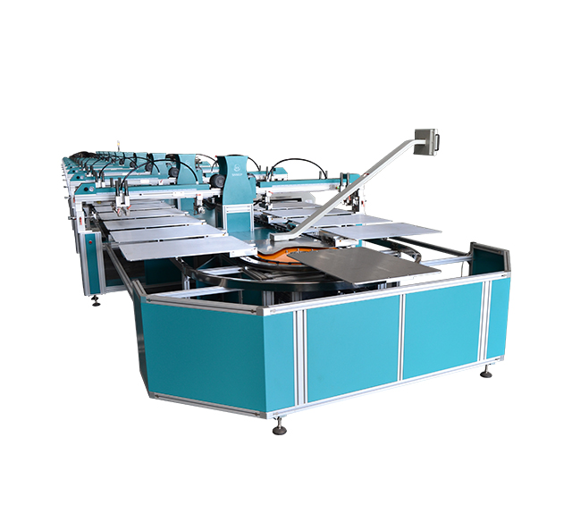全自动服装丝网印花机